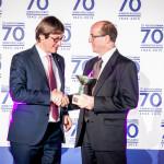 per ISOPREN riceve l'Award Innovazione Tecnologica il dr. Donadeo