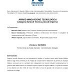 motivazione Award Innovazione Tecnologica